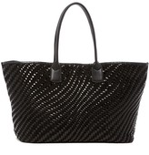 Cole Haan Lena Woven Leather Tote