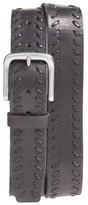 John Varvatos Men's Laced Leather Belt