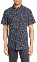 Nordstrom Men's Slim Fit Print Sport Shirt