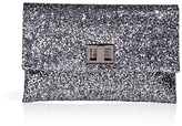 ANYA HINDMARCH The Valerie Pewter Glitter Clutch