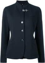 Fay buttoned jacket - women - Cotton/Polyamide/Spandex/Elastane - 46