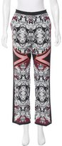 Clover Canyon Digital Print Straight-Leg Pants