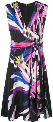 Josie Natori Printed Midi Dress