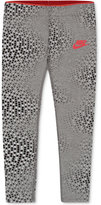 Nike Graphic-Print Club Leggings, Toddler & Little Girls (2T-6X)