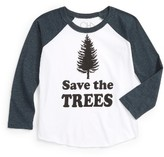 Chaser Toddler Boy's Save The Trees T-Shirt