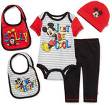 Disney 5-pc. Mickey Mouse Clothing Set - Baby Boys newborn-24m