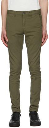 Rag & Bone Khaki Fit 1 Classic Chino Trousers