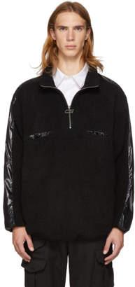 Cmmn Swdn Black Fleece Leroy Zip-Up Pullover