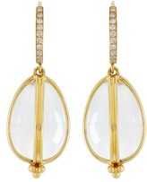 Temple St. Clair Women's Dia Classic Amulet Drop Earrings