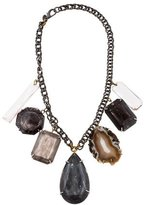 Erickson Beamon Multistone Chain Necklace