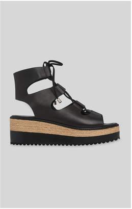 Whistles Ghillie Tie Flatform Sandal