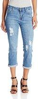 Liverpool Jeans Company Women's Michelle Rolled Capri Jean