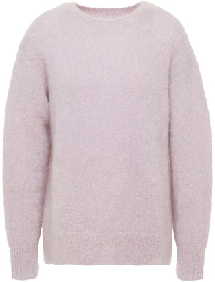 Vince Brushed Mohair-blend Sweater