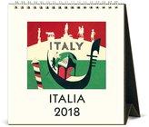 Cavallini CAL18-8 Italia 2018 Desk Calendar