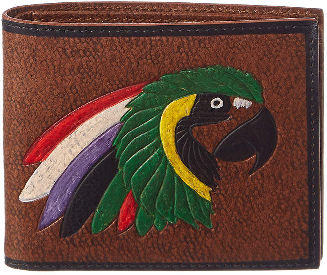 Gucci Parrot Leather Wallet