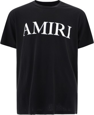 Amiri Stitch Logo Embroidered T-Shirt