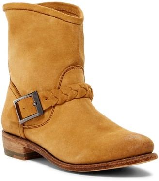 Blackstone Braid Strap Short Leather Boot