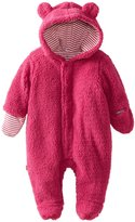 Magnificent Baby Hooded Bear Pram - Raspberry-NB