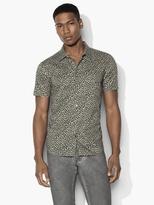 John Varvatos Floral Camo Sport Shirt