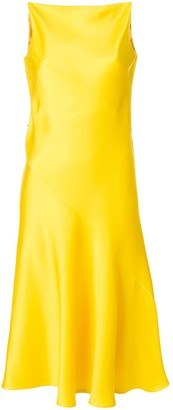 Calvin Klein V back dress