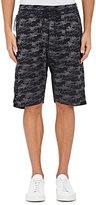 Nlst Men's Camouflage Jacquard Basketball Shorts-Black Size M
