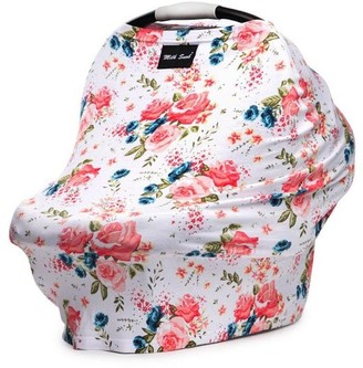 Milk Snob Multi Use Baby Car Seat Cover French Floral