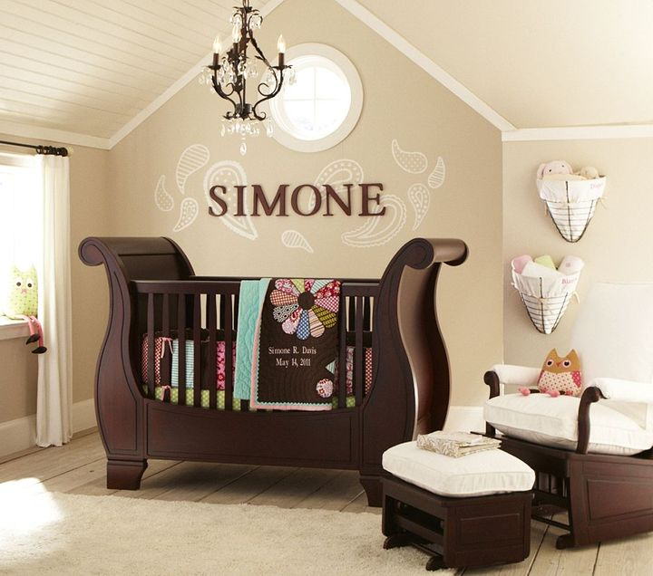 Pottery Barn Kids Simone Nursery Bedding Set
