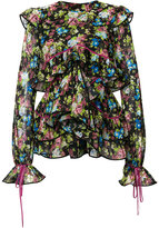 DSQUARED2 floral printed blouse
