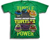 Freeze Kelly Green TMNT 'Turtle Power' Tee - Boys