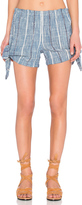 Free People Blue Bonnet Shorts
