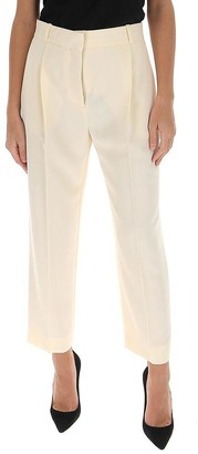 See by Chloe Cropped High Waisted Trousers