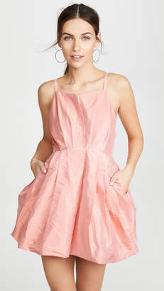 Preen by Thornton Bregazzi Floretta Taffeta Dress