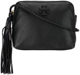 Tory Burch tassel detail shoulder bag - women - Cotton/Leather - One Size