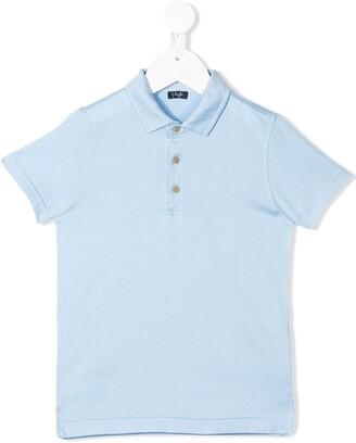 Il Gufo Stitched Logo Polo Shirt