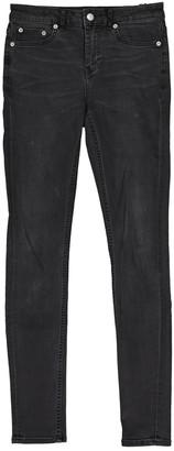 BLK DNM Grey Cotton - elasthane Jeans for Women