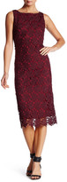 BB Dakota Roswell Crochet Lace Shift Dress