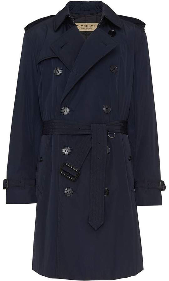 Burberry Quilt-lined Nylon Trench Coat