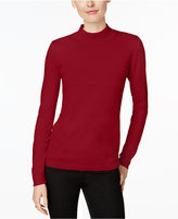 Charter Club Mock-Turtleneck Sweater, Only at Macy's