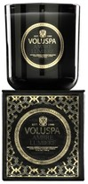 Voluspa Maison Noir Collection Classic Maison Candle - Ambre Lumiere