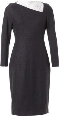 Burberry Grey Wool Dresses