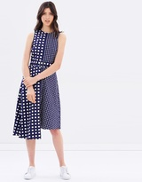 Warehouse Gingham Dress