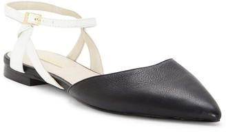 Louise et Cie Caledon Leather Flat