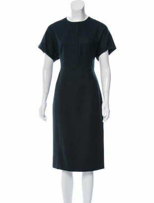 Narciso Rodriguez 2019 Knee-Length Dress w/ Tags Wool