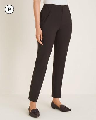 So Slimming Petite Juliet Side-Vent Ankle Pants