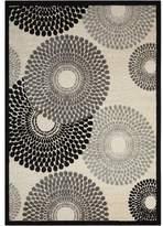 Nourison Graphic Illusions GIL04 Parchment Area Rug