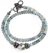 Armenta Women's Old World Semiprecious Stone Double Wrap Bracelet