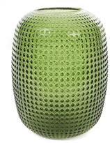K Levering Klevering Small Dotted Green Vase