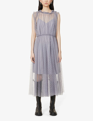 Designers Remix Mira tulle midi dress