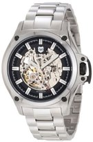 Andrew Marc Men's A21606TP 3 Hand Automatic Watch,Black