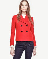 Ann Taylor Cropped Peacoat